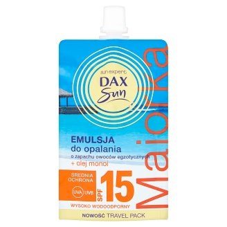 Dax Sun Suntan Lotion Exotic Fruits Scent SPF 15 50 ml