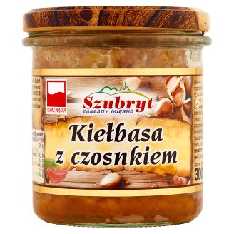 Szubryt Sausage with Garlic 300 g