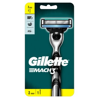 Gillette Mach3 Razor For Men + 1 Blade
