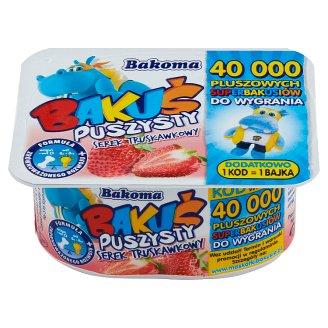 Bakoma Bakuś Strawberry Flavour Fluffy Dessert 90 g