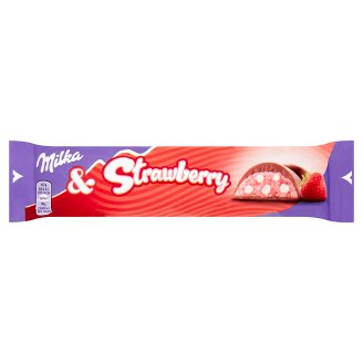 Milka Strawberry Milk Chocolate 36.5 g