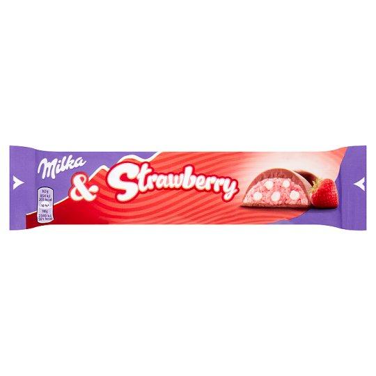 Milka Strawberry Milk Chocolate 36.5 g