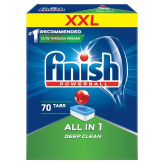 Finish All in 1 Dishwasher Detergent in Tabs 1141 g (70 Pieces)