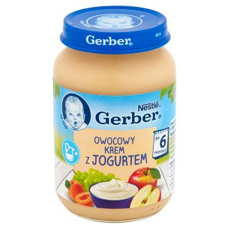 Gerber Fruit Cream with Yoghurt after 6 Months Onwards 190 g