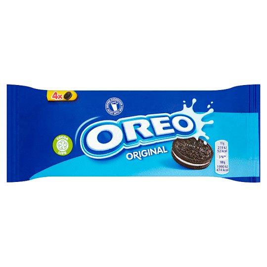 Oreo Original Ciastka kakaowe z nadzieniem o smaku waniliowym 44 g