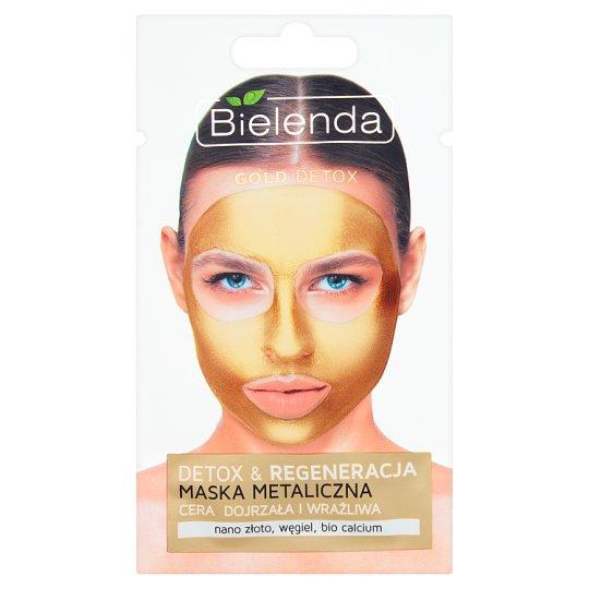 Bielenda Gold Detox Maska metaliczna cera dojrzała i wrażliwa 8 g
