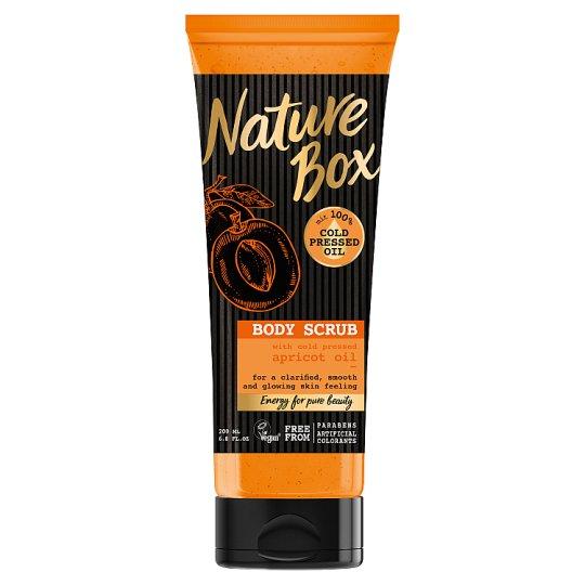 Nature Box Scrub do ciała z olejem z moreli 200 ml