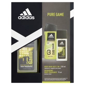 Adidas Pure Game Cosmetics Set