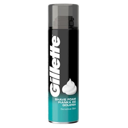 Gillette Classic Men's Shaving Foam Sensitive 200ml
