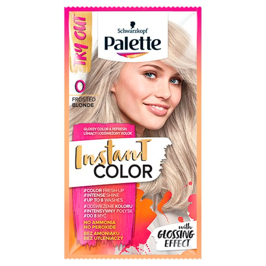 Palette Instant Color Coloring Shampoo Frosted Blonde 0 25 ml
