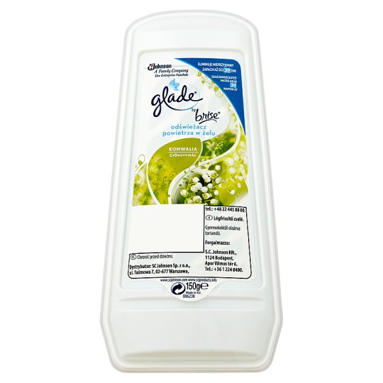 Glade by Brise Lily of the Valley Gel Air Freshener 150 g