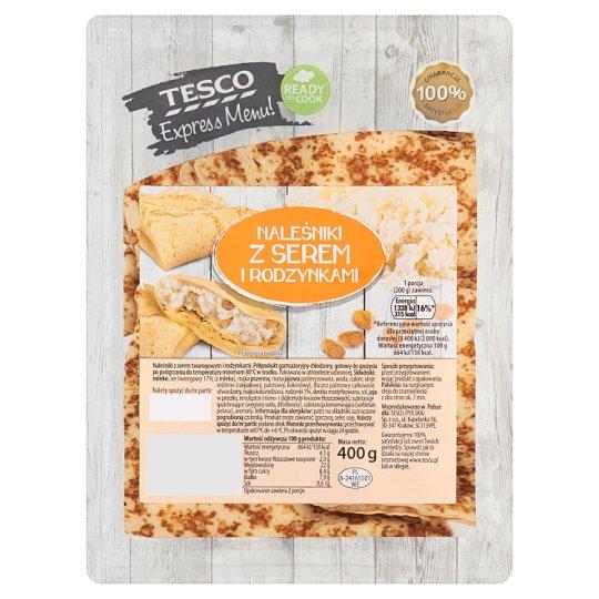 Tesco Express Menu! Naleśniki z serem i rodzynkami 400 g