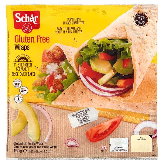 Schär Wraps Gluten Free Tortilla Wraps 160 g (2 Pieces)