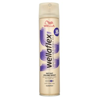 Wella Wellaflex Instant Volume Boost Extra Strong Hold Hairspray 250 ml