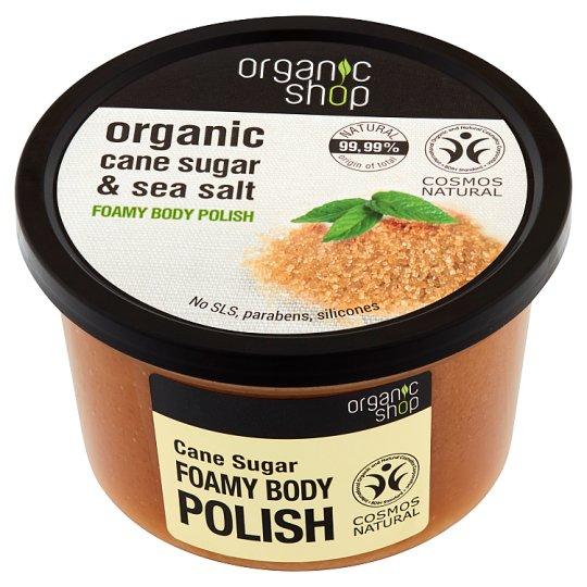 Organic Shop Cane Sugar Foam Body Polish 250 ml