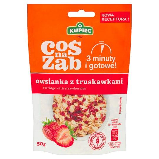 Kupiec Coś na ząb Strawberry Porridge 50 g