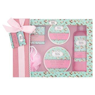 Kinsley Cosmetics Rose Garden Bath Set
