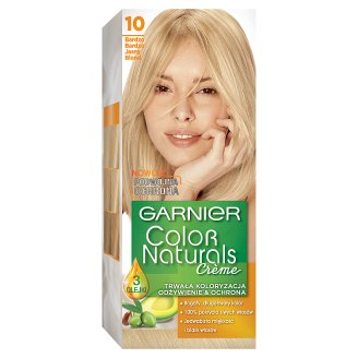 Garnier Color Naturals Creme Farba do włosów 10 Bardzo bardzo jasny blond