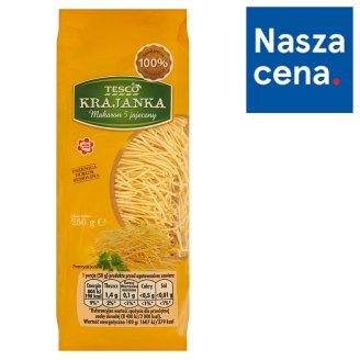 Tesco 5 Eggs Pasta 250 g