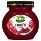 Łowicz Low Sugar Raspberry Extra Jam 240 g