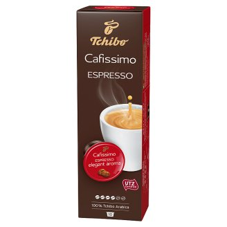 Tchibo Cafissimo Espresso Elegant Aroma Kawa mielona w kapsułkach 70 g (10 sztuk)