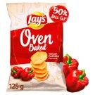Lay's z Pieca Pieczone chipsy ziemniaczane o smaku grillowanej papryki 125 g