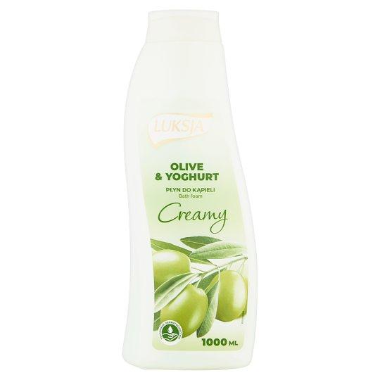 Luksja Creamy Olive & Yoghurt Bath Foam 1000 ml