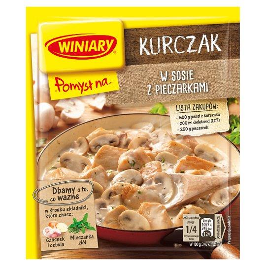 Winiary Pomysł na... Chicken with Mushrooms 32 g