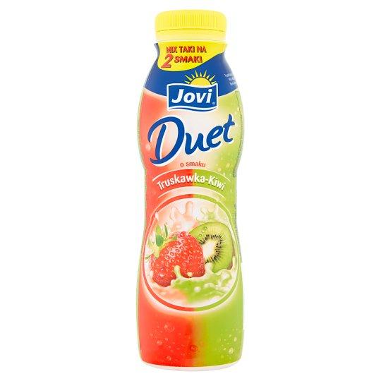Jovi Duet Strawberry and Kiwi Flavour Yoghurt Drink 350 g
