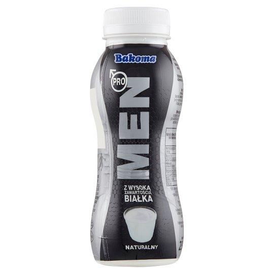 Bakoma Men Pro Jogurt o smaku naturalnym z wysoką zawartością białka 230 g