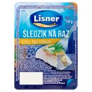 Lisner Herring Fillets in Mustard Sauce 100 g
