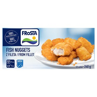 FRoSTA Fish Nuggets from Fillet 240 g (12 Pieces)