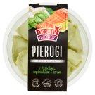 Nowy Wiśnicz Premium Pierogi z łososiem szpinakiem i serem 350 g