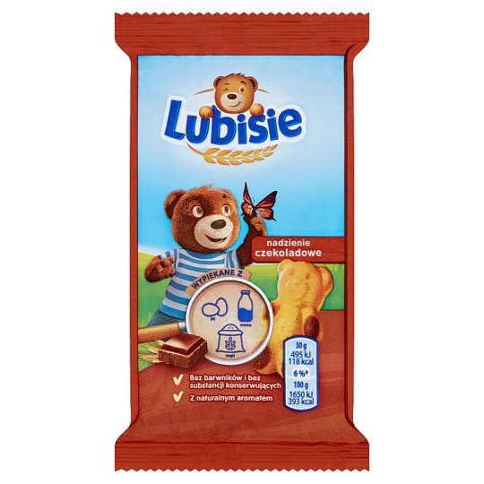 Lubisie Sponge Cake with Chocolate Filling 30 g