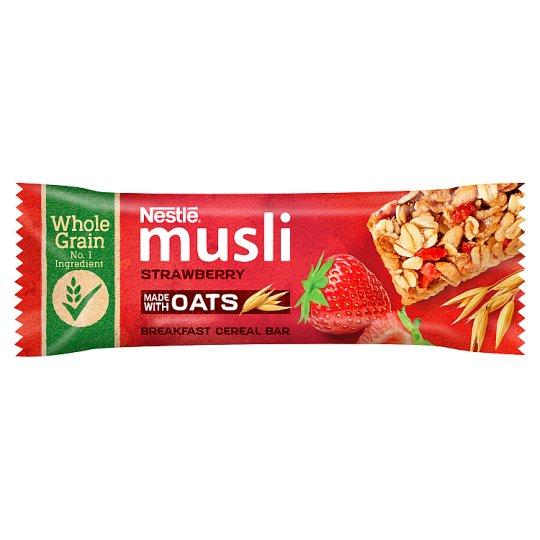 Nestlé Musli Strawberry Cereal Bar 35 g
