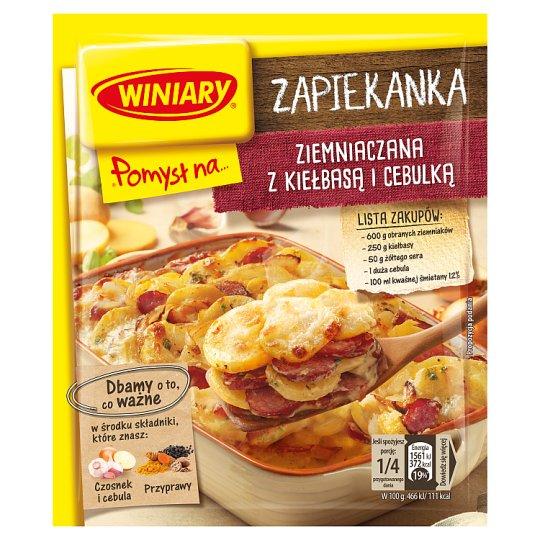 Winiary Pomysł na... Potato Casserole with Sausage and Onion 41 g
