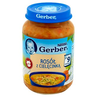 Gerber Broth with Veal after 9 Months Onwards 190 g