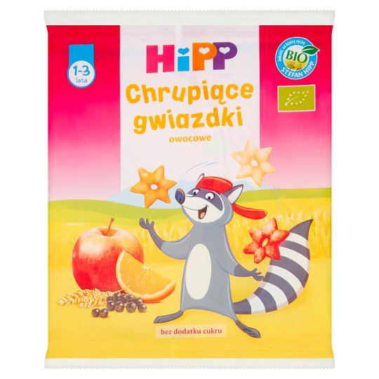 HiPP BIO Fruit Crunchy Stars for Children 1-3 Years 30 g
