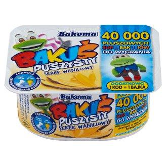 Bakoma Bakuś Puszysty serek waniliowy 90 g