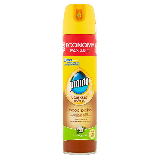 Pronto Springtime Spray for Wooden Furniture 300 ml