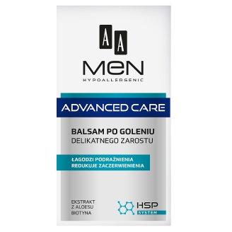 AA Men Hypoallergenic Advanced Care Balsam po goleniu delikatnego zarostu 100 ml