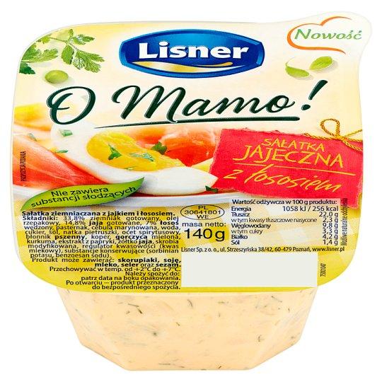 Lisner O Mamo! Egg Salad with Salmon 140 g