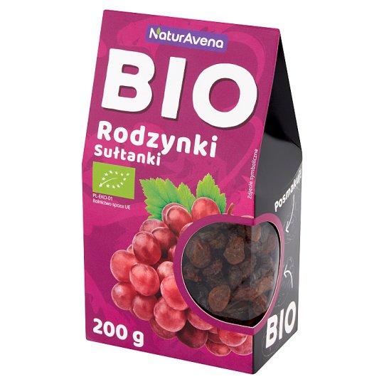 NaturAvena Sultan Organic Raisins 200 g