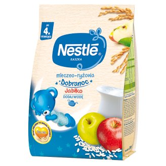 Nestlé Dobranoc Milk and Rice Porridge Apple after 4 Months Onwards 230 g