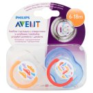 Avent Freeflow Soothers 6-18 Months 2 Pieces
