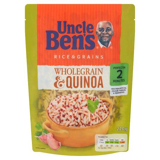 Uncle Ben's Wholegrain Rice with Quinoa 220 g