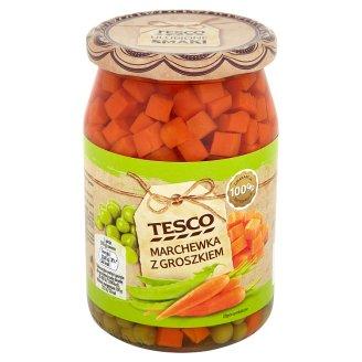 Tesco Carrot with Peas 700 g
