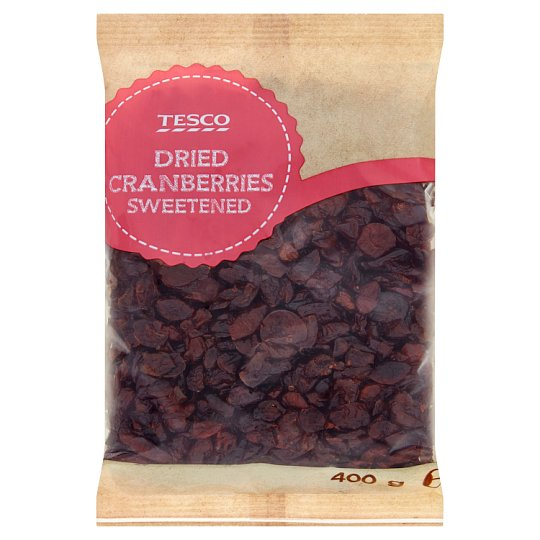 Tesco Dried Sweetened Cranberries 400 g