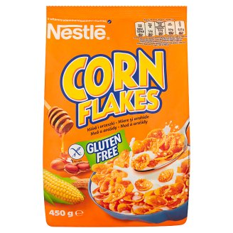 Nestlé Corn Flakes Honey and Nuts Breakfast Cereals with Honey and Nuts 450 g
