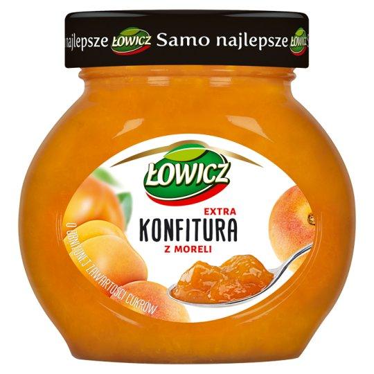 Łowicz Low Sugar Apricot Extra Jam 240 g